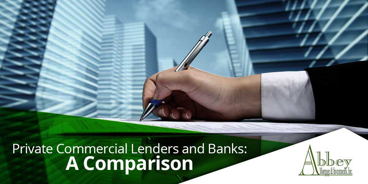 Private Commercial Lenders and Banks
