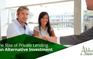 Private Lending As An Alternative Investment