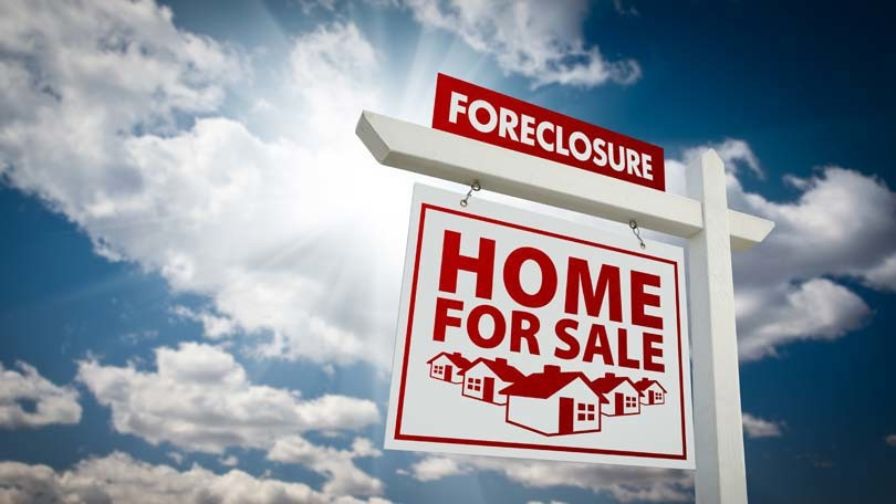 Investing in foreclosed homes for sale