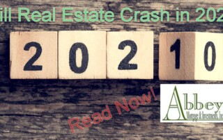 picture for article about is a real estate crash looming in 2021